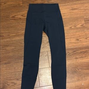 Navy high wasted lulus